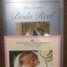 Coleccionismo de Revista Pronto: BODA REAL Y NACIMIENTO DE LEON DE BORBON. Lote 170203768