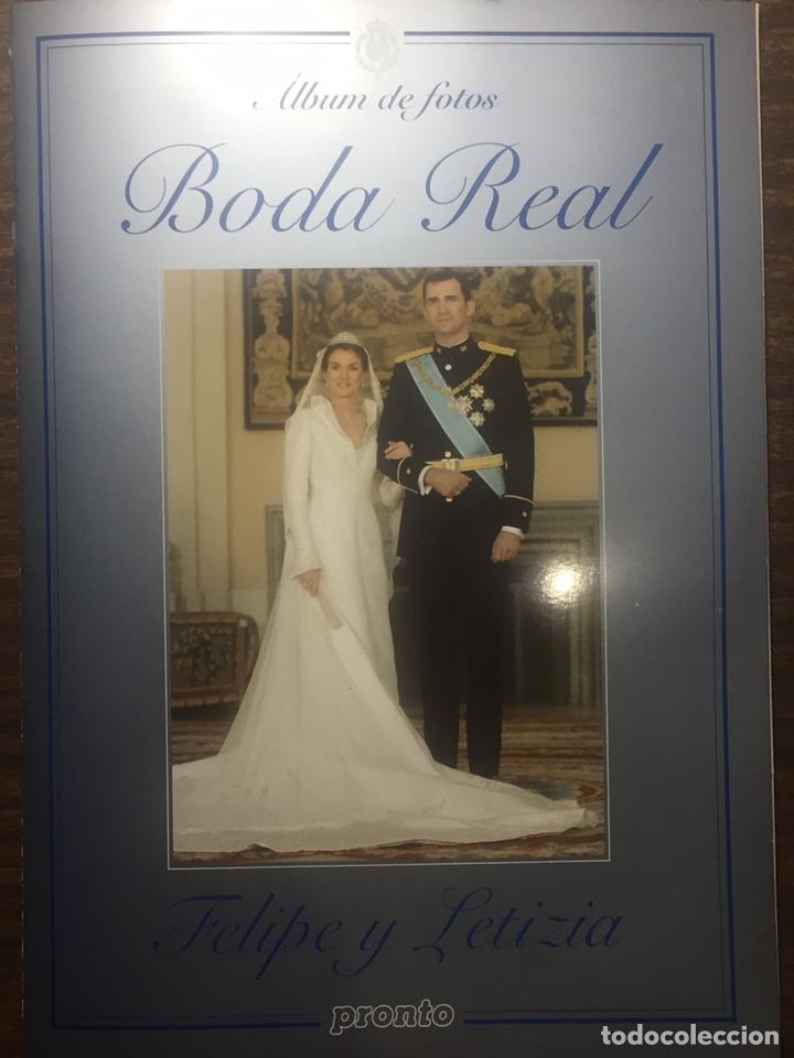 Coleccionismo de Revista Pronto: Boda Real y Nacimiento de Leon de borbon - Foto 2 - 170203768