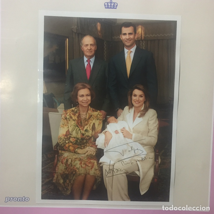 Coleccionismo de Revista Pronto: Boda Real y Nacimiento de Leon de borbon - Foto 6 - 170203768