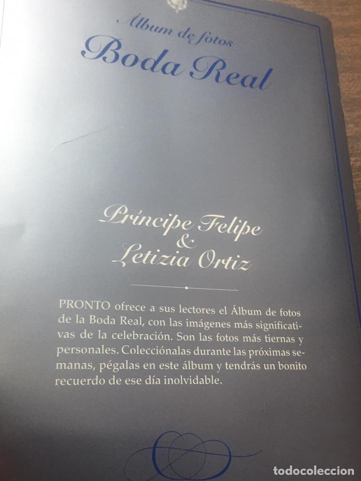 Coleccionismo de Revista Pronto: Boda Real y Nacimiento de Leon de borbon - Foto 20 - 170203768