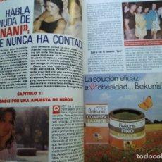 Coleccionismo de Revista Pronto: REPORTAJES SOBRE EL NANI REVISTA PRONTO . Lote 174122940