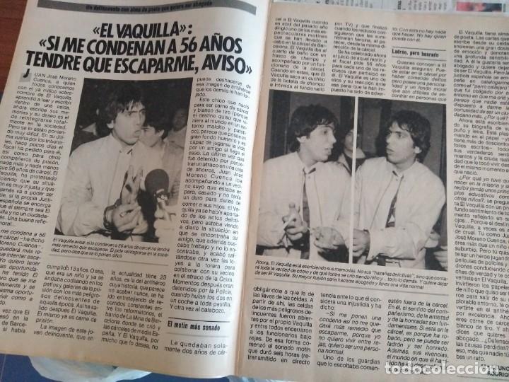 Coleccionismo de Revista Pronto: REVISTA PRONTO 680 PUEBLO DE PLAN, EL VAQUILLA 2 PAG, RONALD REAGAN EN ESPAÑA 1985 - Foto 2 - 174409394