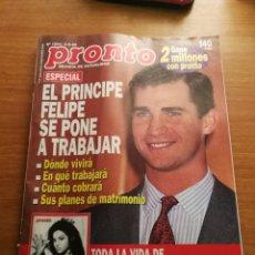 Coleccionismo de Revista Pronto: PRONTO 1204. Lote 180297110