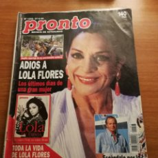 Coleccionismo de Revista Pronto: REVISTA PRONTO 1203. Lote 180443163