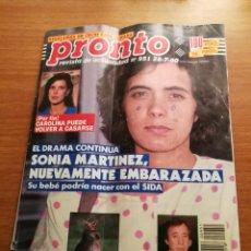Coleccionismo de Revista Pronto: REVISTA PRONTO 951. Lote 180456187