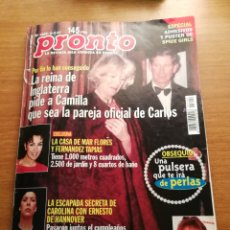 Coleccionismo de Revista Pronto: REVISTA PRONTO 1292. Lote 180456267