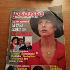 Coleccionismo de Revista Pronto: REVISTA PRONTO 1289. Lote 180456315