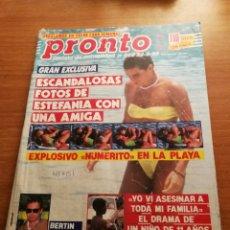 Coleccionismo de Revista Pronto: REVISTA PRONTO 959. Lote 180457232