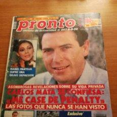 Coleccionismo de Revista Pronto: REVISTA PRONTO 957. Lote 180457313