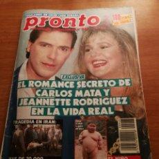 Coleccionismo de Revista Pronto: REVISTA PRONTO 948. Lote 180462778