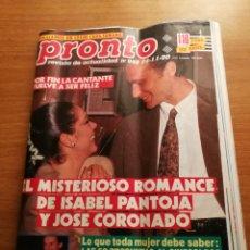 Coleccionismo de Revista Pronto: REVISTA PRONTO 968. Lote 180462860
