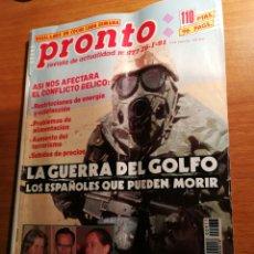 Coleccionismo de Revista Pronto: REVISTA PRONTO 977. Lote 180476032