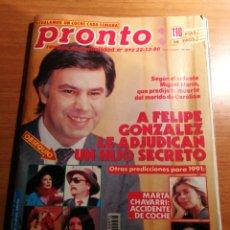 Coleccionismo de Revista Pronto: REVISTA PRONTO 972. Lote 180476147