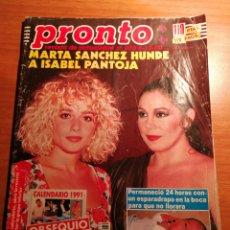 Coleccionismo de Revista Pronto: REVISTA PRONTO 970. Lote 180476198