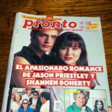 Collectionnisme de Magazine Pronto: REVISTA PRONTO, ROMANCE SENSACIÓN DE VIVIR- N°1047 (30-5-92).. Lote 180920157