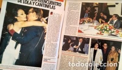 REVISTA PRONTO 686 PEPE DA ROSA, LOLA FLORES DE BODA, CARMEN FLORES 2 PAG, RIVERITA 1985 (Papel - Revistas y Periódicos Modernos (a partir de 1.940) - Revista Pronto)