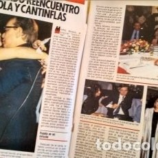 Coleccionismo de Revista Pronto: REVISTA PRONTO 686 PEPE DA ROSA, LOLA FLORES DE BODA, CARMEN FLORES 2 PAG, RIVERITA 1985. Lote 181533863
