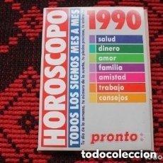 Coleccionismo de Revista Pronto: REVISTA PRONTO HOROSCOPO DE LOS AÑOS 1990 ( COMPLETA ). Lote 181900410
