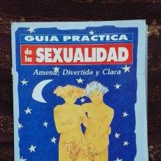 Coleccionismo de Revista Pronto: COLECCIONABLE PRONTO GUÍA PRÁCTICA DE LA SEXUALIDAD. AMENA, DIVERTIDA, CLARA. Lote 182334063