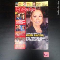 Coleccionismo de Revista Pronto: REVISTA PRONTO. Lote 182479337