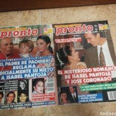 Coleccionismo de Revista Pronto: REVISTAS PRONTO NÚMEROS 968Y967. Lote 182570932