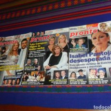 Coleccionismo de Revista Pronto: PRONTO 2069 2140 2203 2213 2240 2243 2287 2288 2298 2304 2310 2311 2312 2313 2315 2316 2351 2353..... Lote 68350751