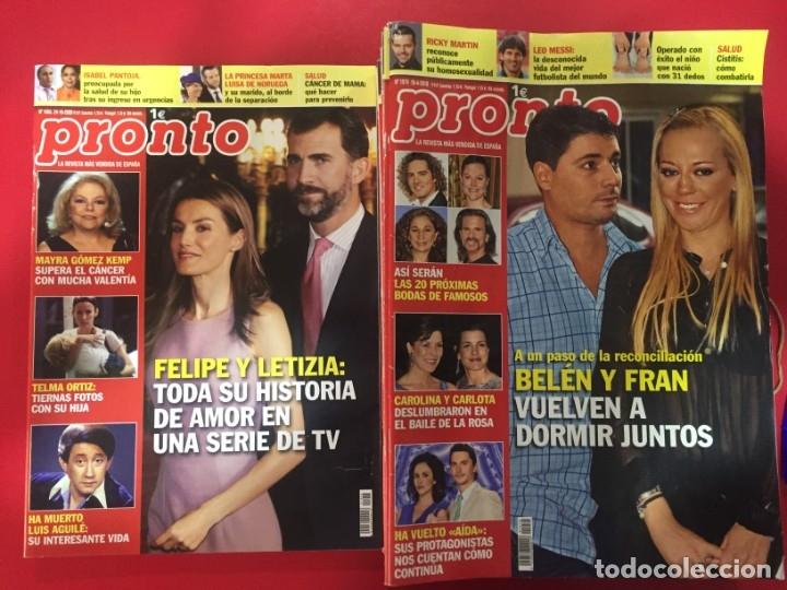 LOTE 26 REVISTAS PRONTO - AÑO 1999 & 2000 - OCASION (Papel - Revistas y Periódicos Modernos (a partir de 1.940) - Revista Pronto)