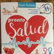 Coleccionismo de Revista Pronto: GRAN FICHERO - PRONTO SALUD - CARPESANO. Lote 183289733
