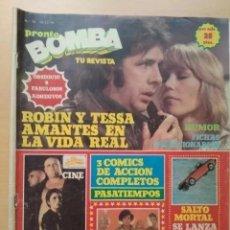 Coleccionismo de Revista Pronto: REVISTA BOMBA NUM 10. PRONTO. 1979. Lote 183386998