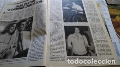 Coleccionismo de Revista Pronto: REVISTA PRONTO 687 ISABEL PANTOJA Y PAQUIRRI, CHIQUETETE, SERIE FALCON CREST 1985 - Foto 2 - 183530180