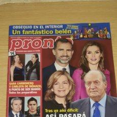 Coleccionismo de Revista Pronto: REVISTA PRONTO NÚMERO 2172 - FECHA 21-12-2013. Lote 184137220