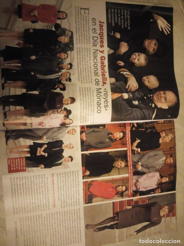Coleccionismo de Revista Pronto: Revista pronto 2015 Letizia y Rania el reencuentro de dos buenas amigas,conmocion mundial,bertin osb - Foto 3 - 184658262