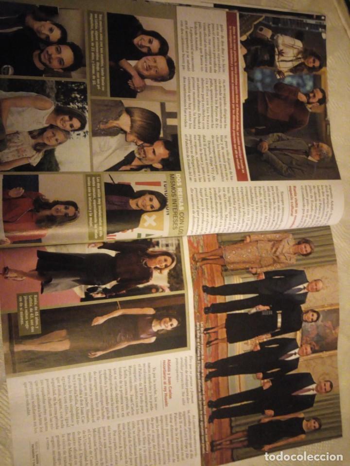 Coleccionismo de Revista Pronto: Revista pronto 2015 Letizia y Rania el reencuentro de dos buenas amigas,conmocion mundial,bertin osb - Foto 6 - 184658262