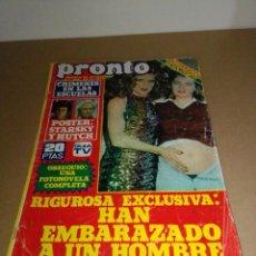 Coleccionismo de Revista Pronto: REVISTA PRONTO NÚM 294. 29-12-1977.. Lote 185778657
