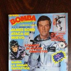 Coleccionismo de Revista Pronto: REVISTA/COMIC BOMBA. PRONTO. Nº 6. 12-11-79.. Lote 186209353
