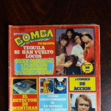 Coleccionismo de Revista Pronto: REVISTA/COMIC BOMBA. PRONTO. Nº 20. 18-2-80.. Lote 187165162