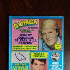 Coleccionismo de Revista Pronto: REVISTA/COMIC BOMBA. PRONTO. Nº 21. 25-11-80.. Lote 187166282