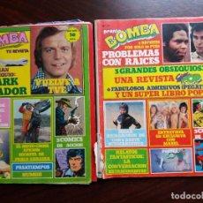 Coleccionismo de Revista Pronto: LOTE 2 REVISTAS/COMIC BOMBA. PRONTO. NºS 22 Y 23. 1980.. Lote 187168331