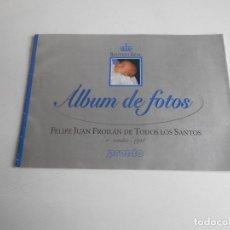 Coleccionismo de Revista Pronto: ALBUM DE FOTOS DE FELIPE JUAN FROILÁN DE TODOS LOS SANTOS. Lote 187169778