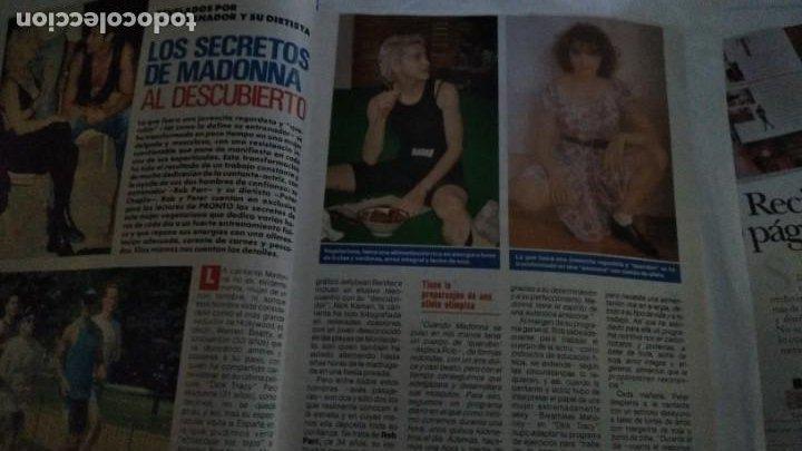 Coleccionismo de Revista Pronto: REVISTA PRONTO 959 ESTEFANÍA DE MÓNACO, BERTÍN OSBORNE, AMPLÍO REPORTAJE MADONNA, ANA OBREGÓN 1990 - Foto 2 - 173941690