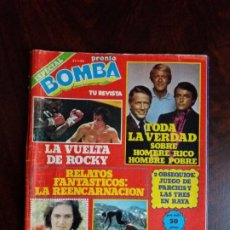 Coleccionismo de Revista Pronto: REVISTA/COMIC BOMBA. PRONTO. Nº ESPECIAL. 21-1-80.. Lote 188493433