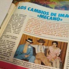 Coleccionismo de Revista Pronto: REVISTA PRONTO 556 CARMEN SEVILLA, GRAN REPORTAJE MECANO AÑO 1983. Lote 189232981