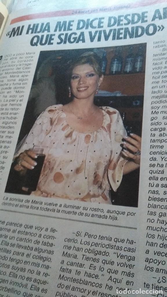 Coleccionismo de Revista Pronto: REVISTA PRONTO 685 MARÍA JIMÉNEZ, NOTICIA ISABEL PANTOJA , MECANO EN JUEGOS EUROPEOS AÑO 1985 - Foto 2 - 189307348