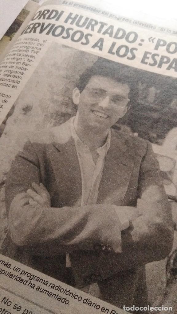 Coleccionismo de Revista Pronto: REVISTA PRONTO 688 LOLA FLORES, PEDRO RUIZ, BIBI ANDERSEN, BONITA ENTREVISTA ROCÍO JURADO AÑO 1985 - Foto 4 - 189307451