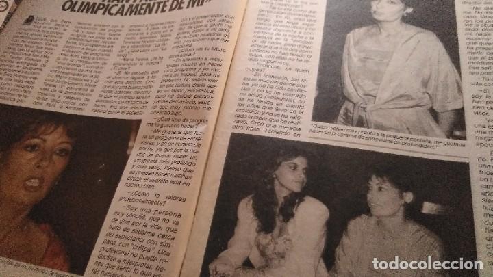 Coleccionismo de Revista Pronto: REVISTA PRONTO 688 LOLA FLORES, PEDRO RUIZ, BIBI ANDERSEN, BONITA ENTREVISTA ROCÍO JURADO AÑO 1985 - Foto 6 - 189307451