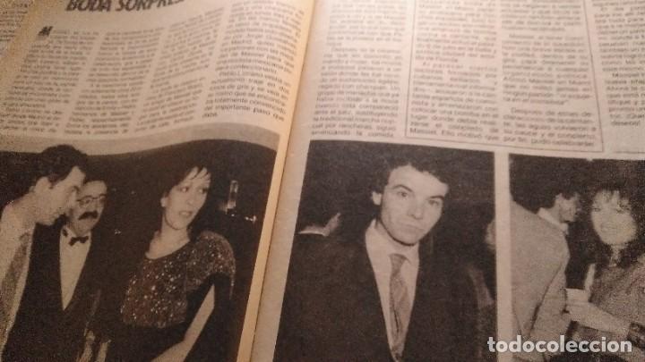 Coleccionismo de Revista Pronto: REVISTA PRONTO 688 LOLA FLORES, PEDRO RUIZ, BIBI ANDERSEN, BONITA ENTREVISTA ROCÍO JURADO AÑO 1985 - Foto 7 - 189307451