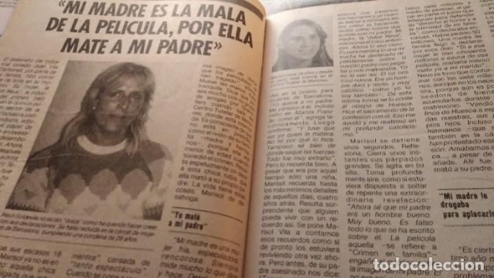 Coleccionismo de Revista Pronto: REVISTA PRONTO 694 LOLA FLORES, PUTURRÚ DE FUA, PEPE DA ROSA PIERDE 40 KILOS, AÑO1985 - Foto 6 - 189307467