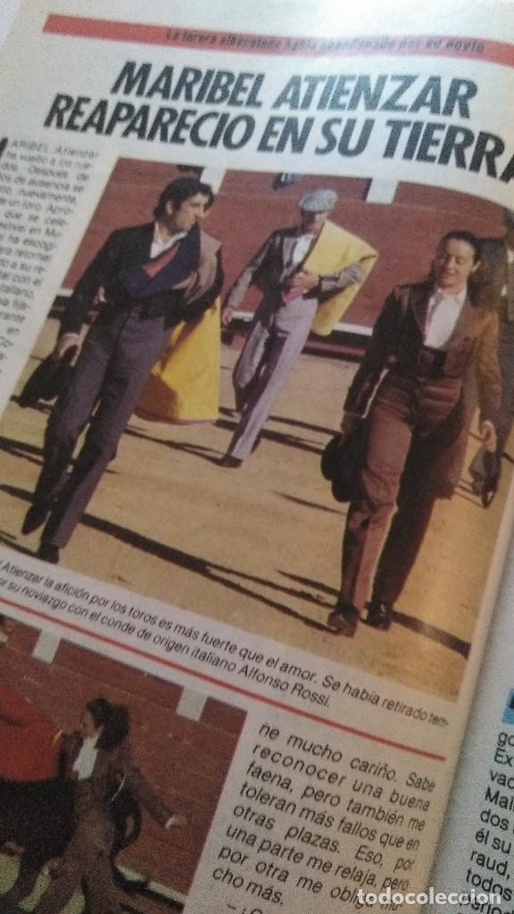 Coleccionismo de Revista Pronto: REVISTA PRONTO 695 CHICHO IBÁÑEZ SERRADOR, EL CORDOBÉS, LOS GOONIES AÑO 1985 - Foto 2 - 189307478