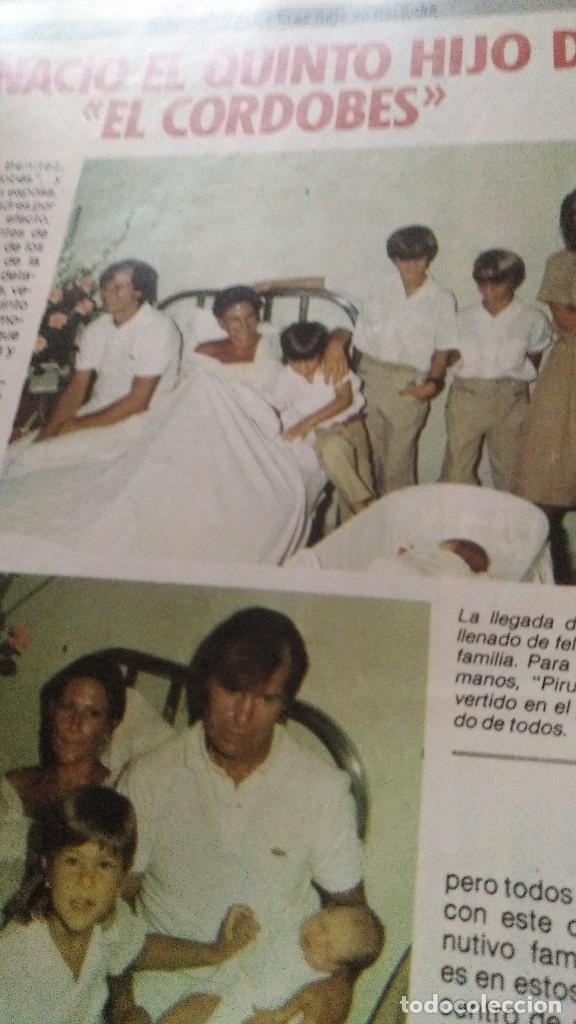 Coleccionismo de Revista Pronto: REVISTA PRONTO 695 CHICHO IBÁÑEZ SERRADOR, EL CORDOBÉS, LOS GOONIES AÑO 1985 - Foto 5 - 189307478