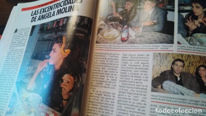 Coleccionismo de Revista Pronto: REVISTA PRONTO 703 SUSANA ESTRADA, ISABEL PANTOJA, MIGUEL BOSÉ, MUERTE ROCK HUDSON AÑO 1985 - Foto 2 - 189307526